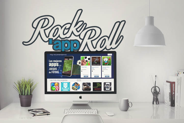 RockAppRoll red social de apps