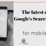 THE LATEST CHANGE IN THE GOOGLE's SEARCH RESULTS DESIGN FOR MOBILE DEVICES