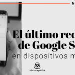 El último rediseño de Google Search para dispositivos móviles.